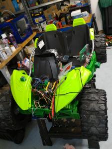 Mike's Sparkfun AVC Car Wars bot